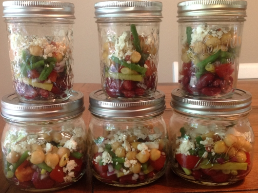 bean salad jars